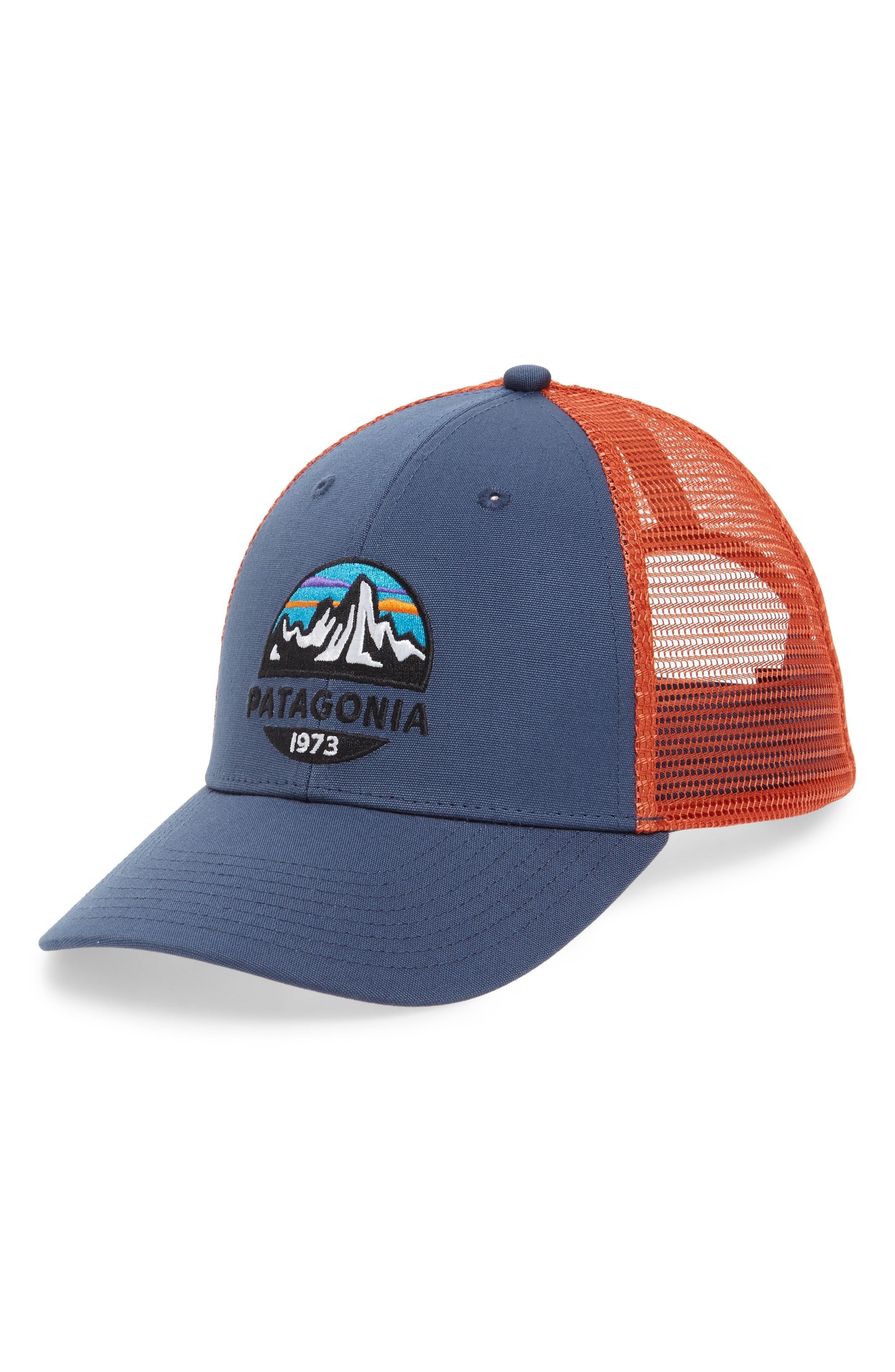 8ff459f29 Patagonia Fitz Roy Scope Lopro Trucker Cap - Blue In Dolomite Blue ...