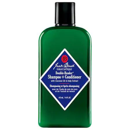 Jack Black Double Header Shampoo + Conditioner 16 Oz