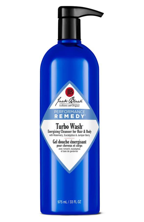 Jack Black Turbo Wash Energizing Cleanser For Hair & Body, 33 oz
