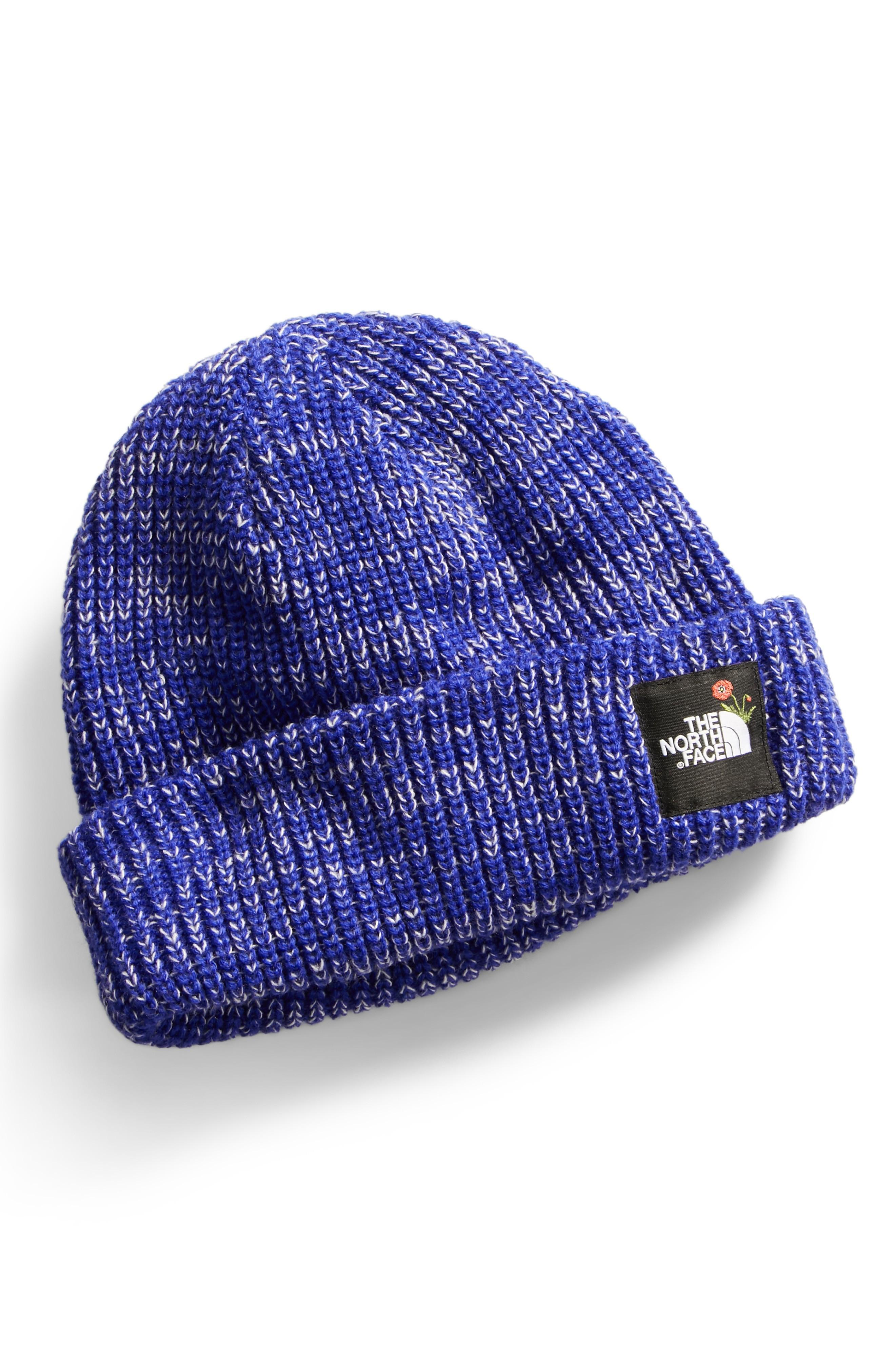 a1a2740f9e66c0 The North Face Salty Dog Beanie - Blue In Lapis Blue Marl | ModeSens