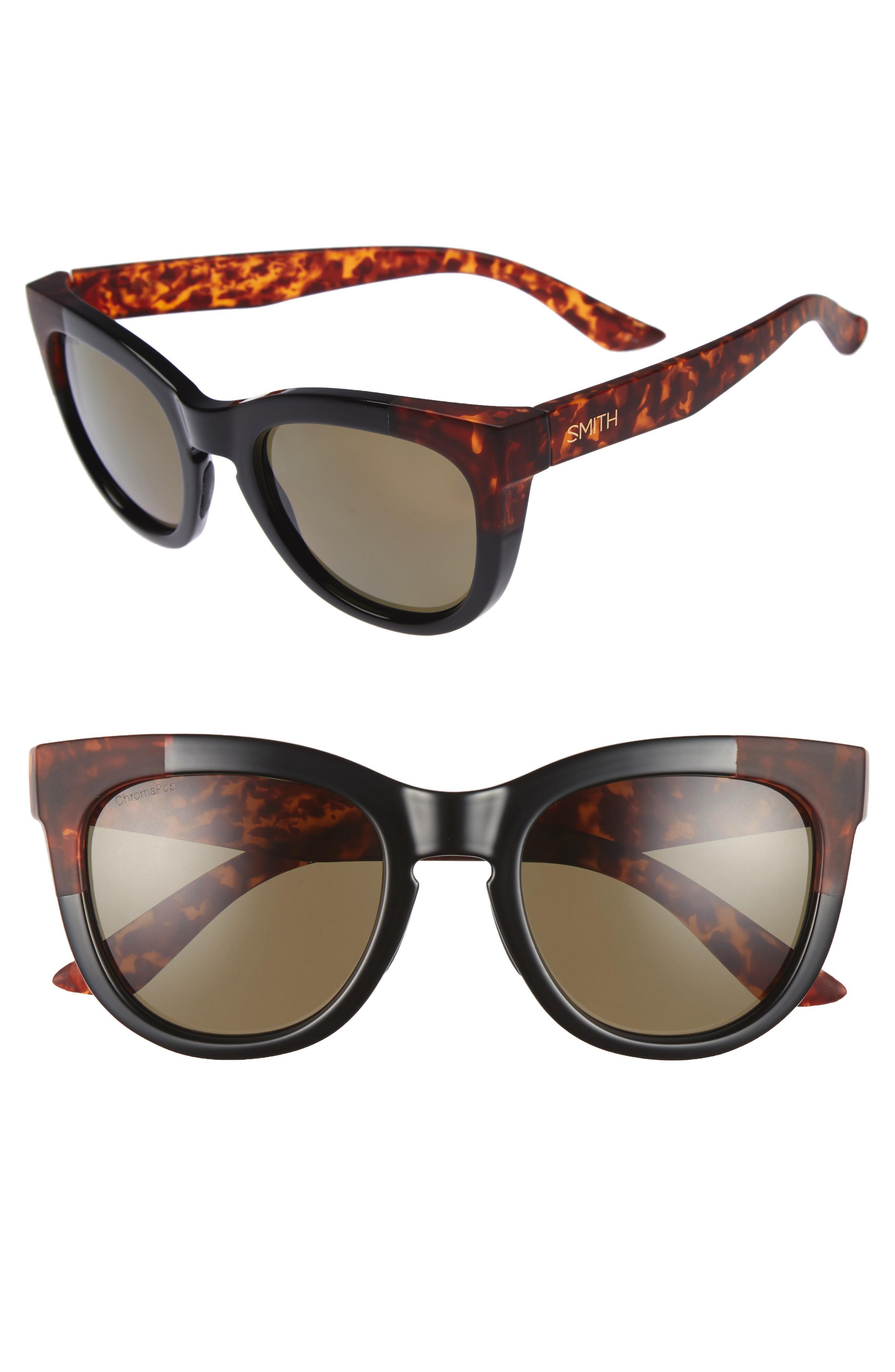 3f4158e780 Smith  Sidney  55Mm Polarized Sunglasses In Coffee  Rose Gold