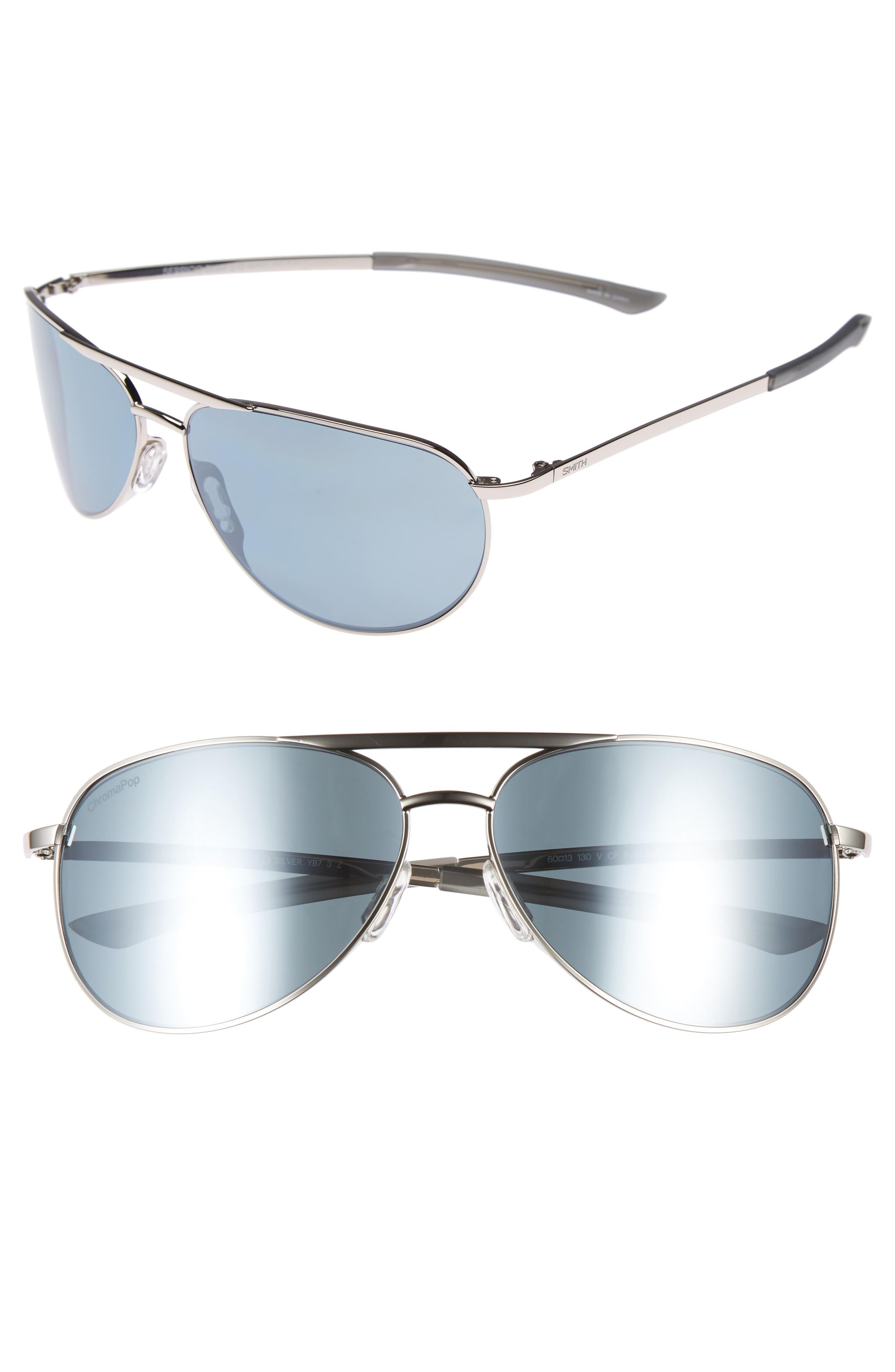 f002a4d2c6e5 Smith Serpico Slim 2.0 60Mm Chromapop Polarized Aviator Sunglasses ...