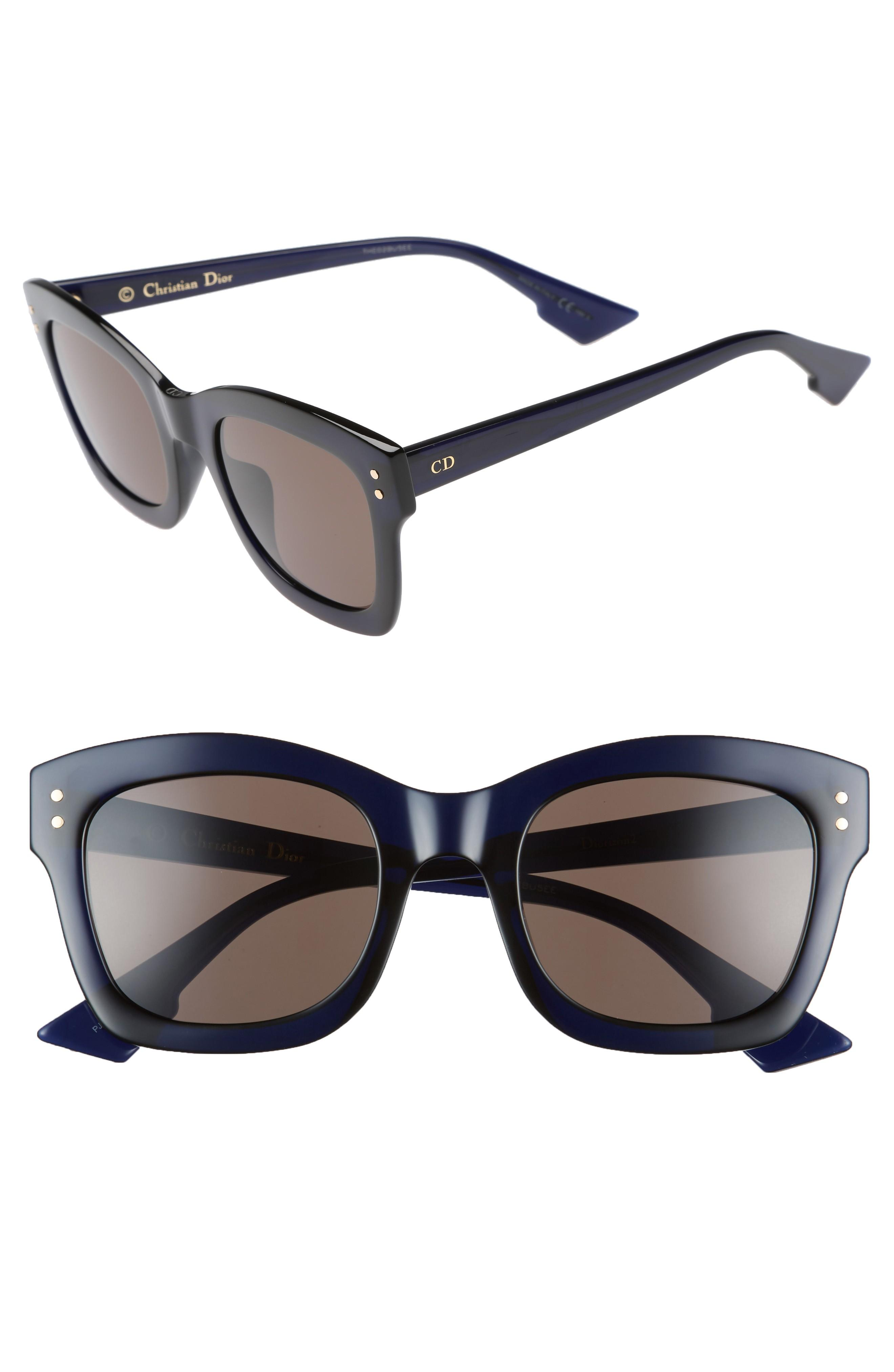 cb322f87939ad Dior Izon 51Mm Sunglasses - Blue