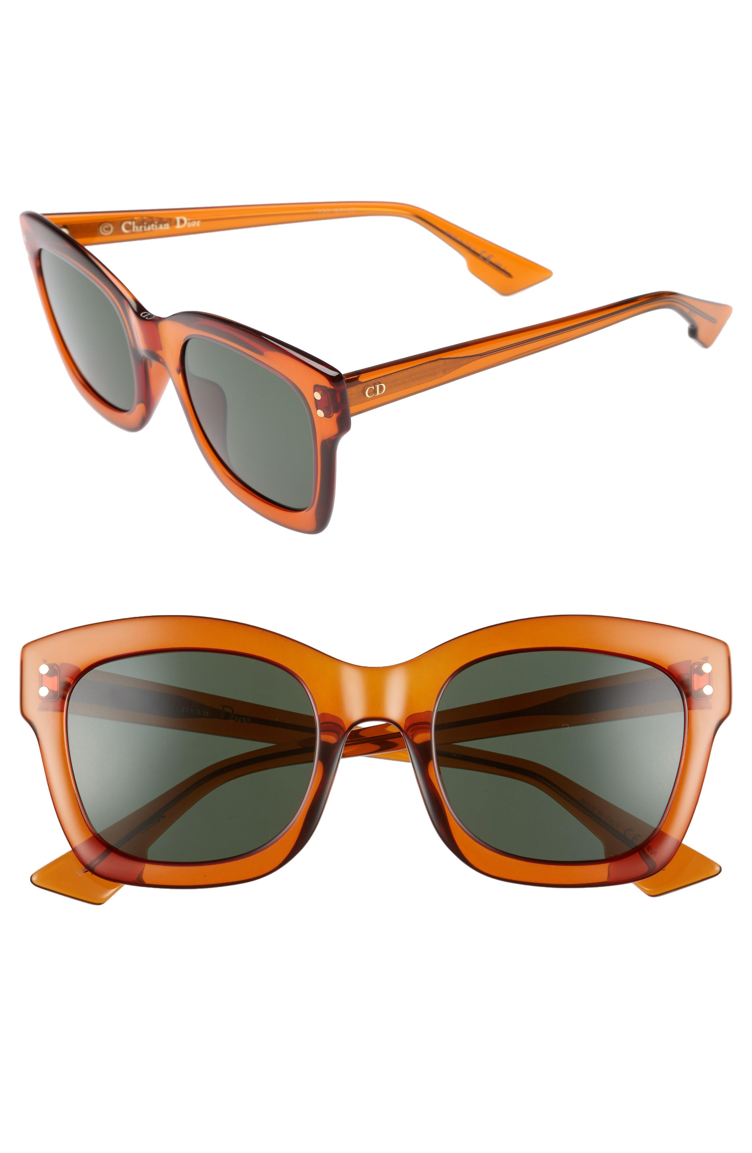 4217da62991dc Dior Izon 51Mm Sunglasses - Orange