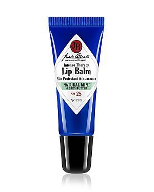 Jack Black Natural Mint & Shea Butter Intense Therapy Lip Balm Spf 25