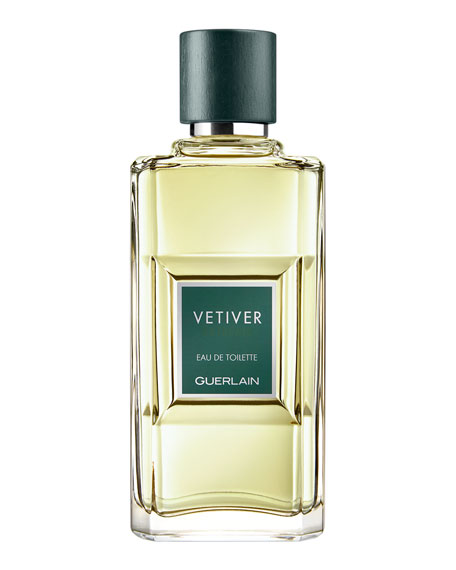 Guerlain Vetiver Eau De Toilette Spray 3.4 Oz.
