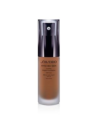 Shiseido Synchro Skin Lasting Liquid Foundation Broad Spectrum Spf 20 In 5 Neutral