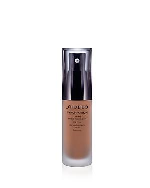 Shiseido Synchro Skin Lasting Liquid Foundation Broad Spectrum Spf 20 In 5 Rose