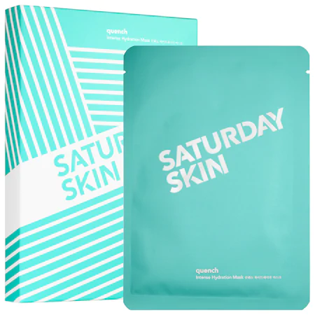 Saturday Skin Quench Set Of 5 Intense Hydration Masks