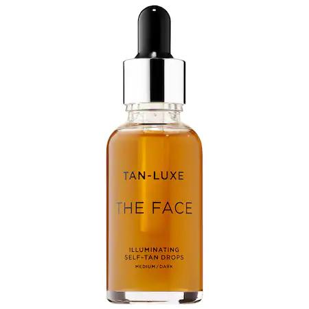 Tan-luxe The Face Illuminating Self-tan Drops Medium/dark 1.01 oz/ 30 ml