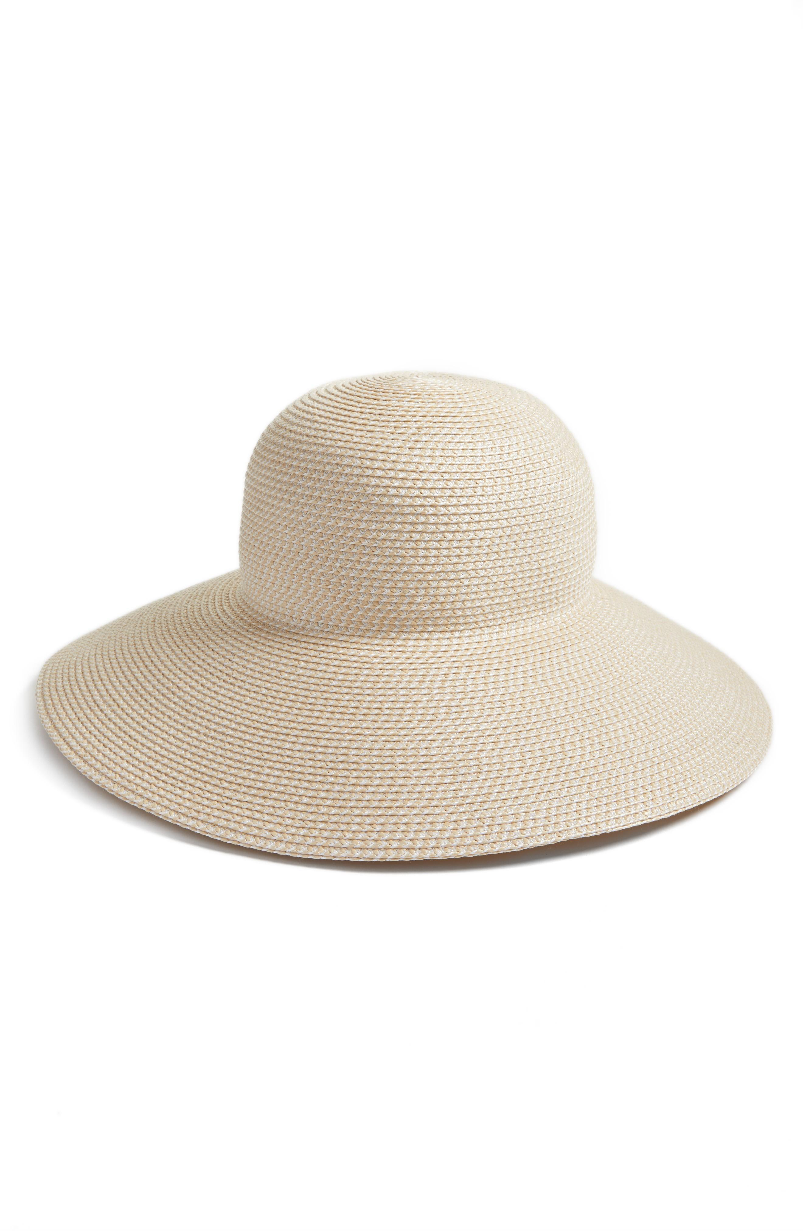 8f5596681d7346 Eric Javits 'Hampton' Straw Sun Hat In Cream | ModeSens