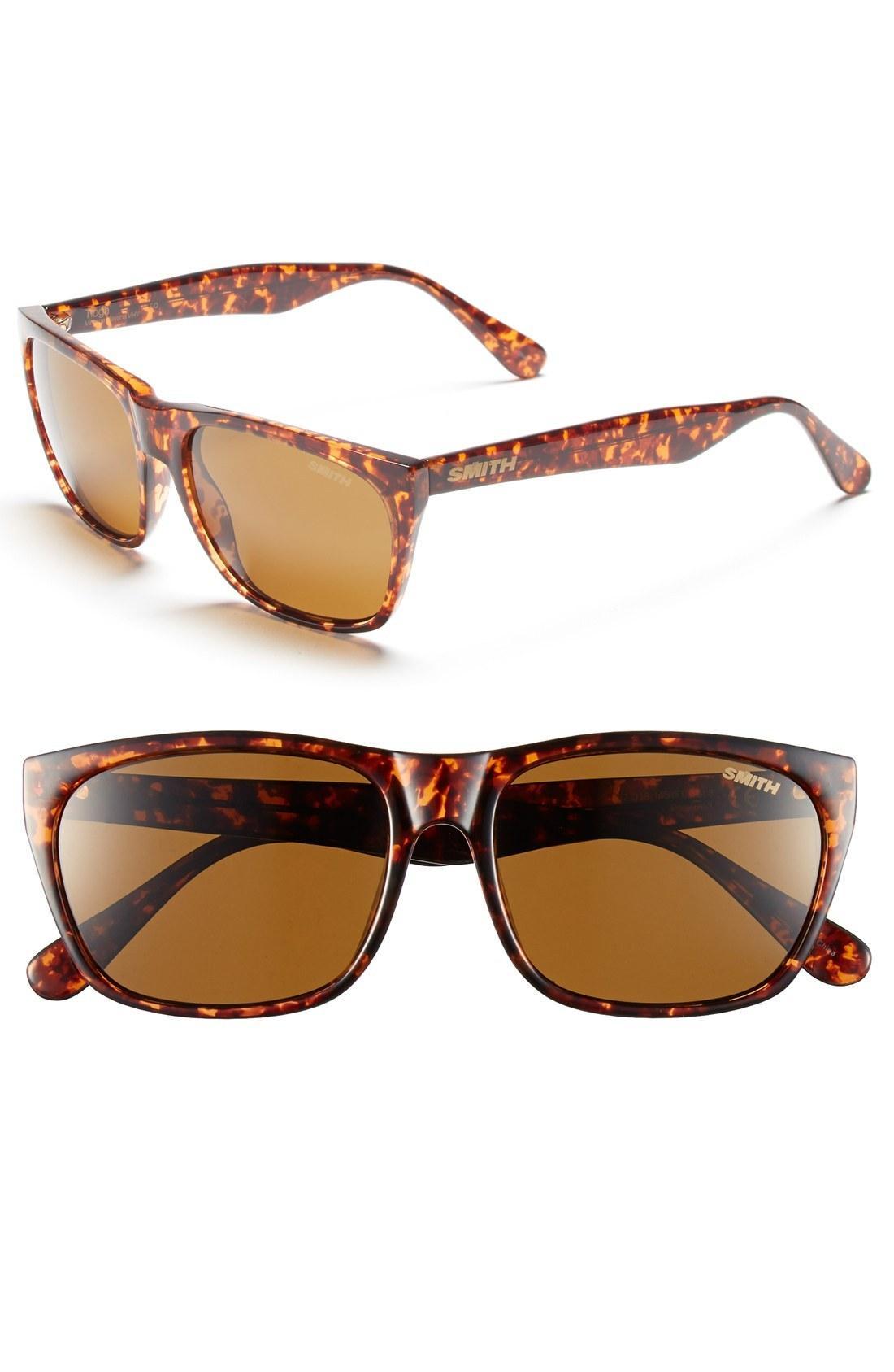 d11bba760a Smith  Tioga  57Mm Polarized Sunglasses - Vintage Havana  Polar Brown