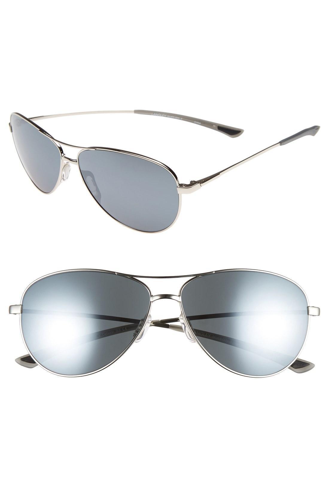 62140c416842f Smith  Langley  60Mm Aviator Sunglasses - Silver