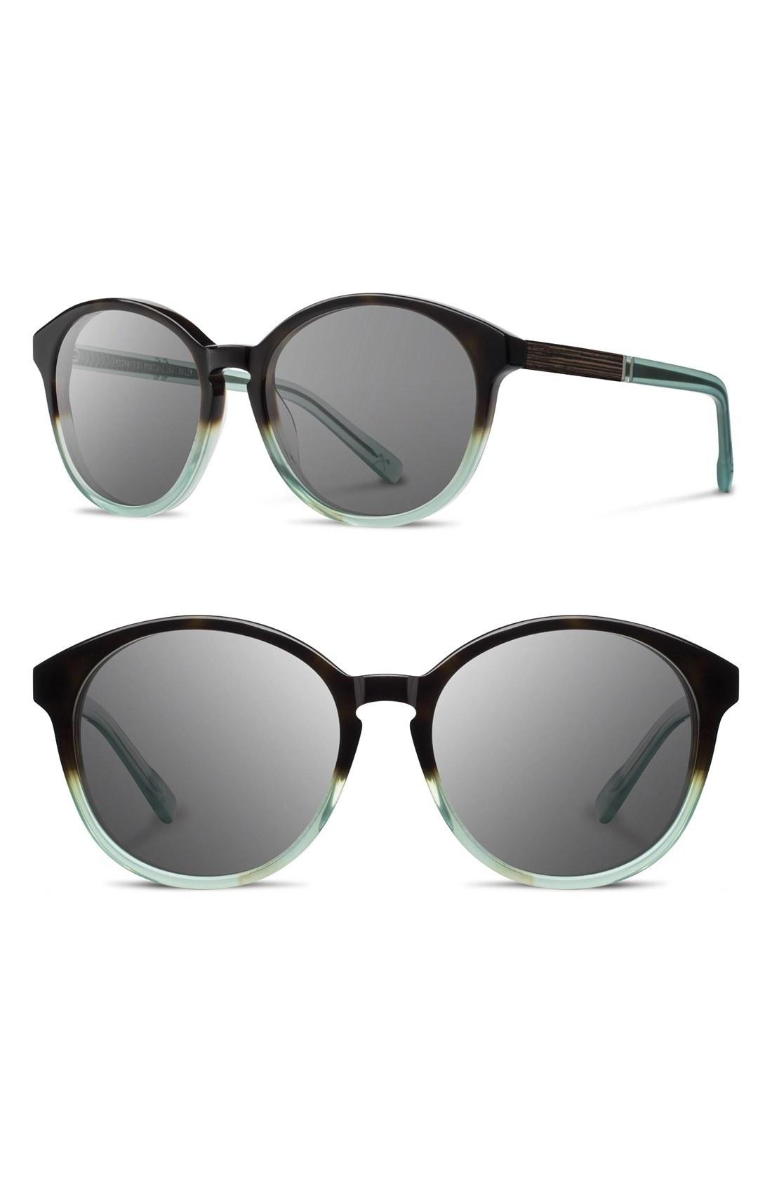 be1a9860239 Polarized Carl Zeiss lenses complete the Portland-made package. Style Name   Shwood  Bailey  53Mm Polarized Sunglasses. Style Number  5012301.