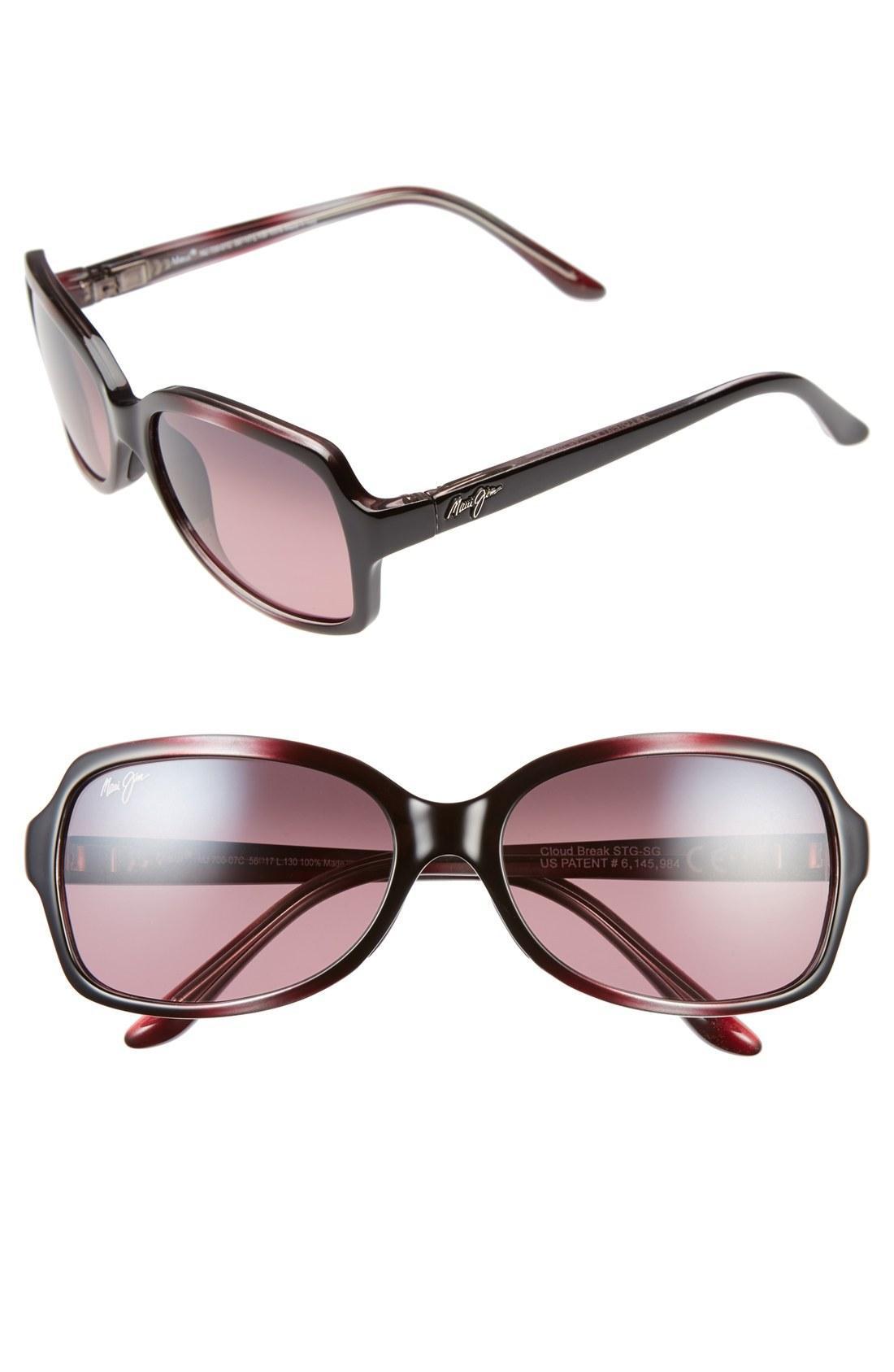 3d34f98cab5e Style Name: Maui Jim Cloud Break 56Mm Polarizedplus2 Sunglasses. Style  Number: 1027790.