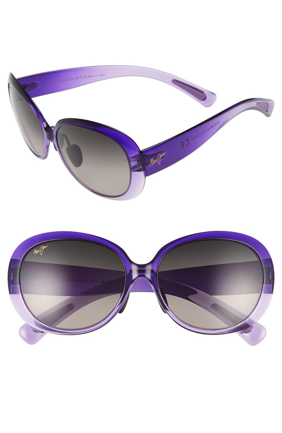 c8de2b5a6e Maui Jim Nahiku 59Mm Polarizedplus2 Sunglasses - Purple Fade  Neutral Grey