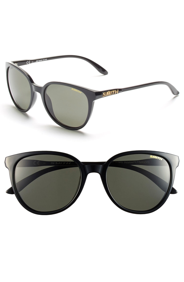 Smith 'cheetah' 53mm Sunglasses In Black/ Polar Grey/ Green