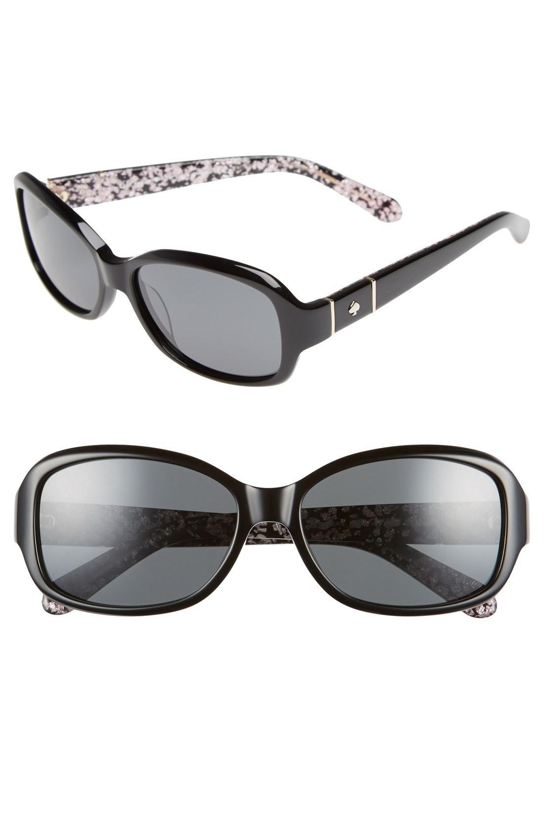 8c327e79ba6e8 Kate Spade Cheyenne P S 55Mm Polarized Sunglasses In Nocolor
