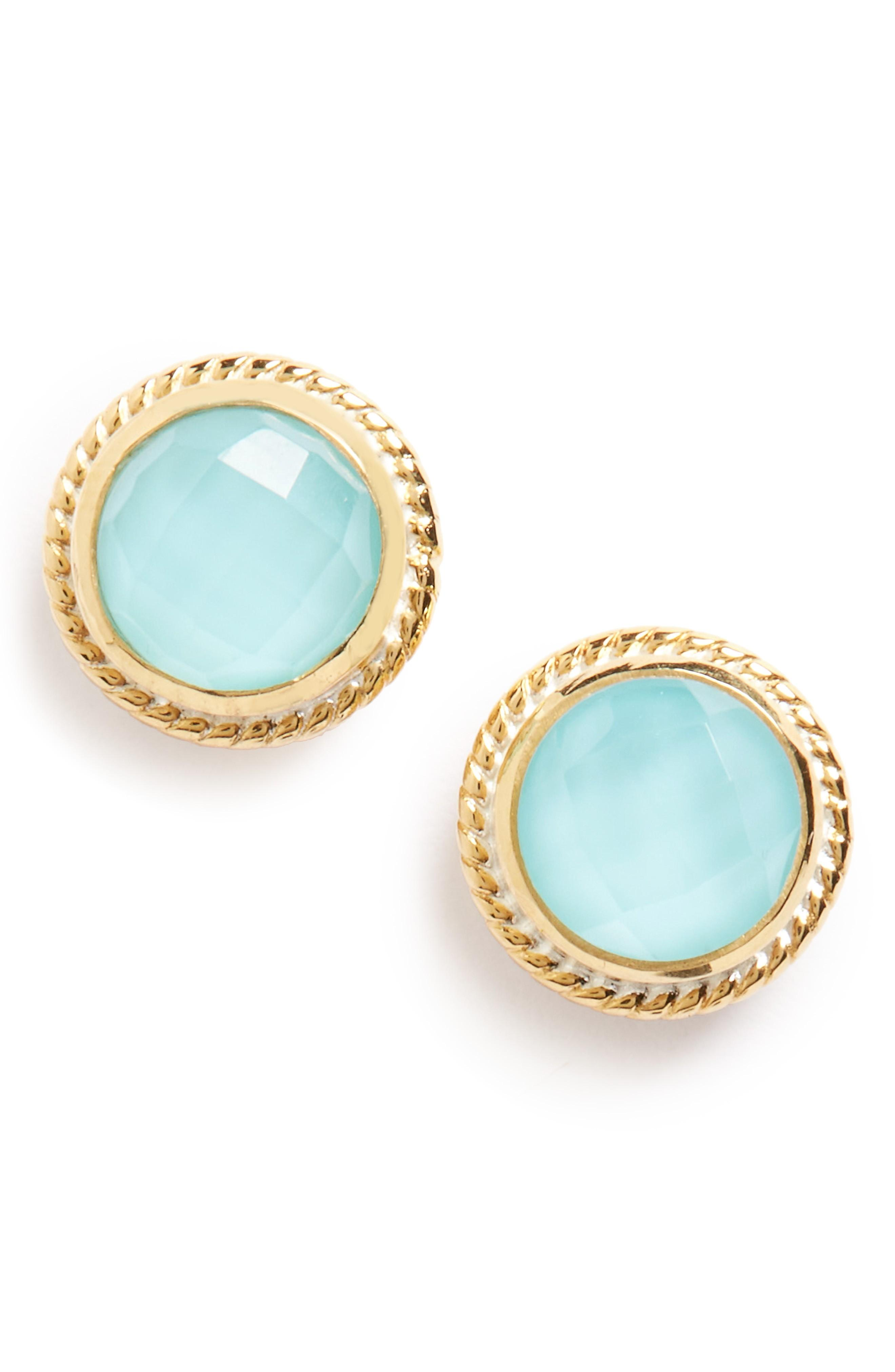 c2fd3f113 Anna Beck Stone Stud Earrings In Turquoise | ModeSens