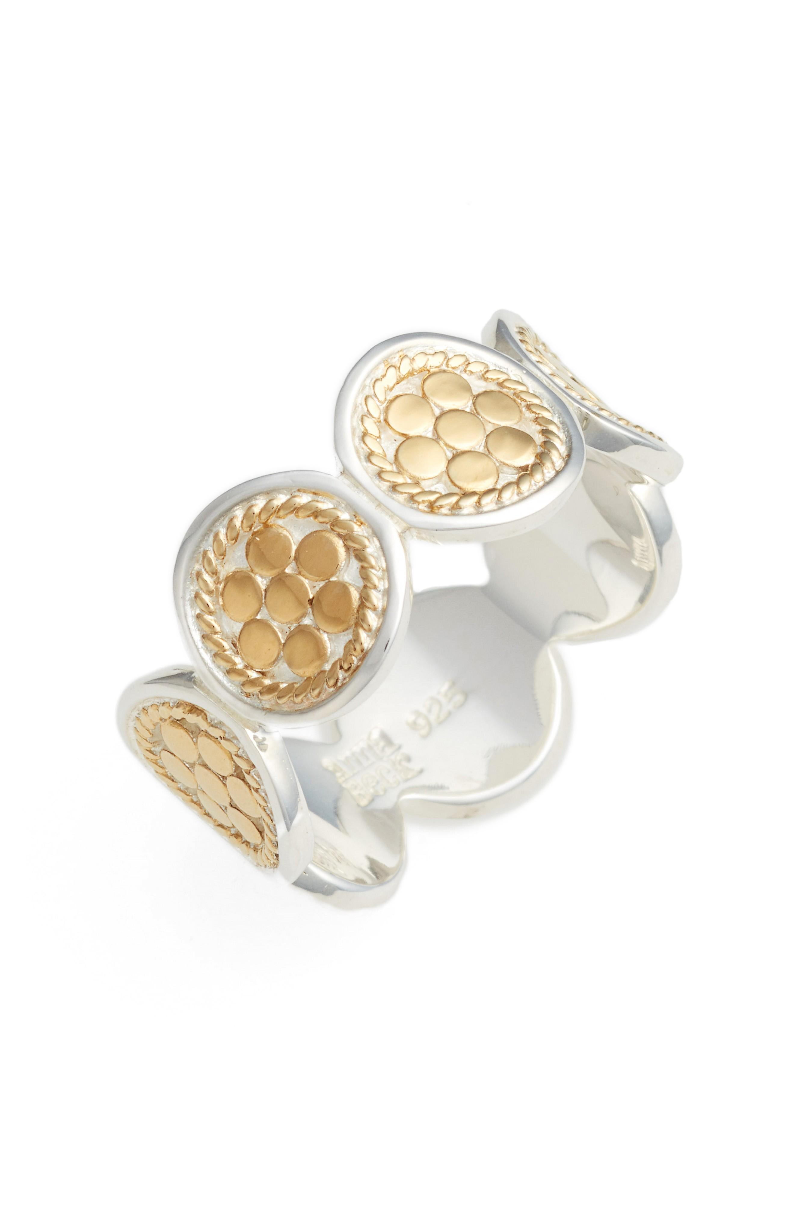 9f3ba74c0 Anna Beck Signature Multi Disc Band Ring In Gold   ModeSens