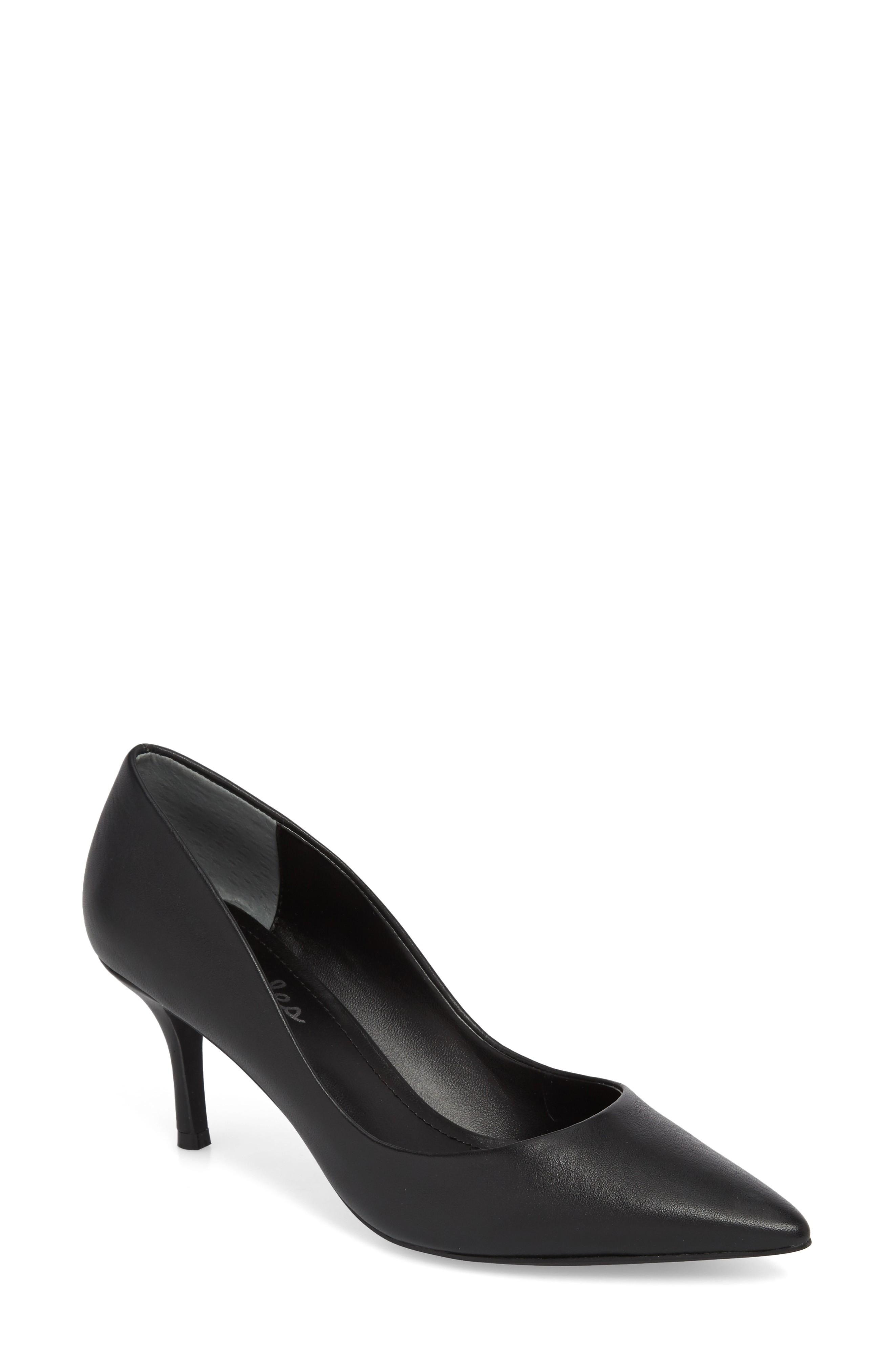 85a7398e196 A poised kitten heel lifts a pointy-toe pump that s perfect for any  occasion. Style Name  Charles By Charles David Addie Pump (Women).