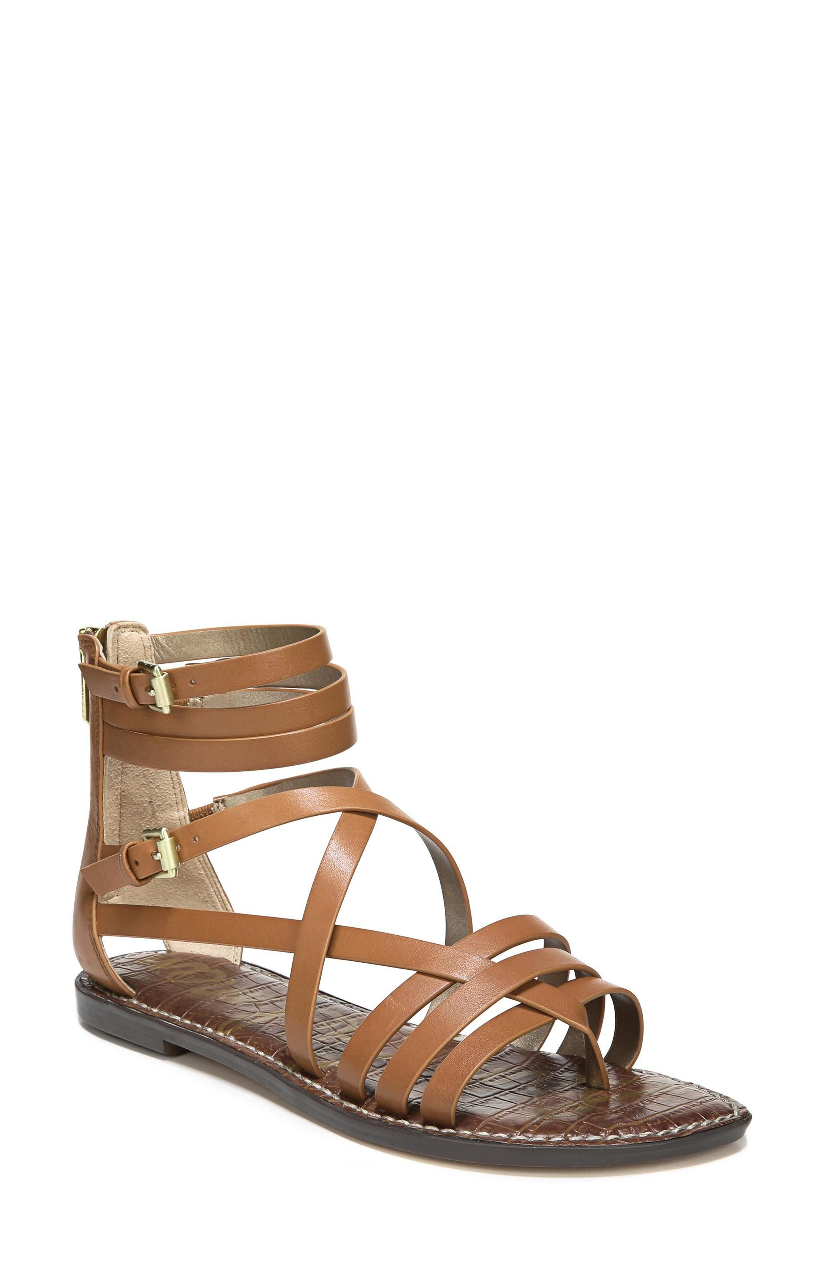 f7372d35e Sam Edelman Ganesa Strappy Sandal In Saddle Leather