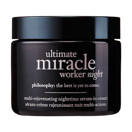 Philosophy Ultimate Miracle Worker Night Multi-rejuvenating Nighttime Serum-in-cream