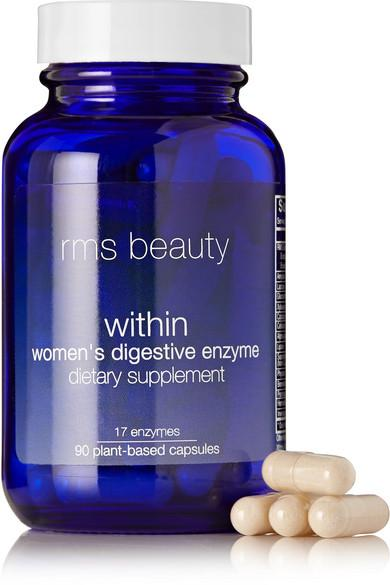 Rms Beauty Within Women's Digestive Enzyme, 90 Capsules In Colorless