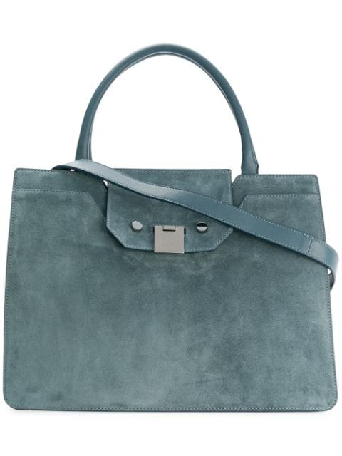 Jimmy Choo Rebel Tote In Blue