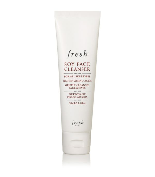 Fresh Mini Soy Makeup Removing Face Wash 1.7 oz/ 50 ml In White
