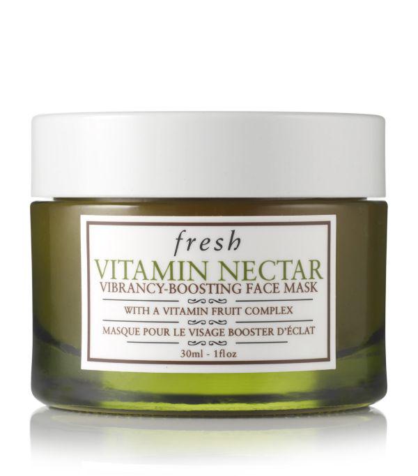 Fresh Vitamin Nectar Vibrancy-boosting Face Mask To Go In White