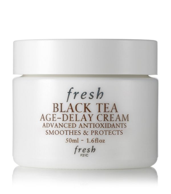 Fresh Black Tea Age-delay Cream 1.6 oz/ 50 ml In White