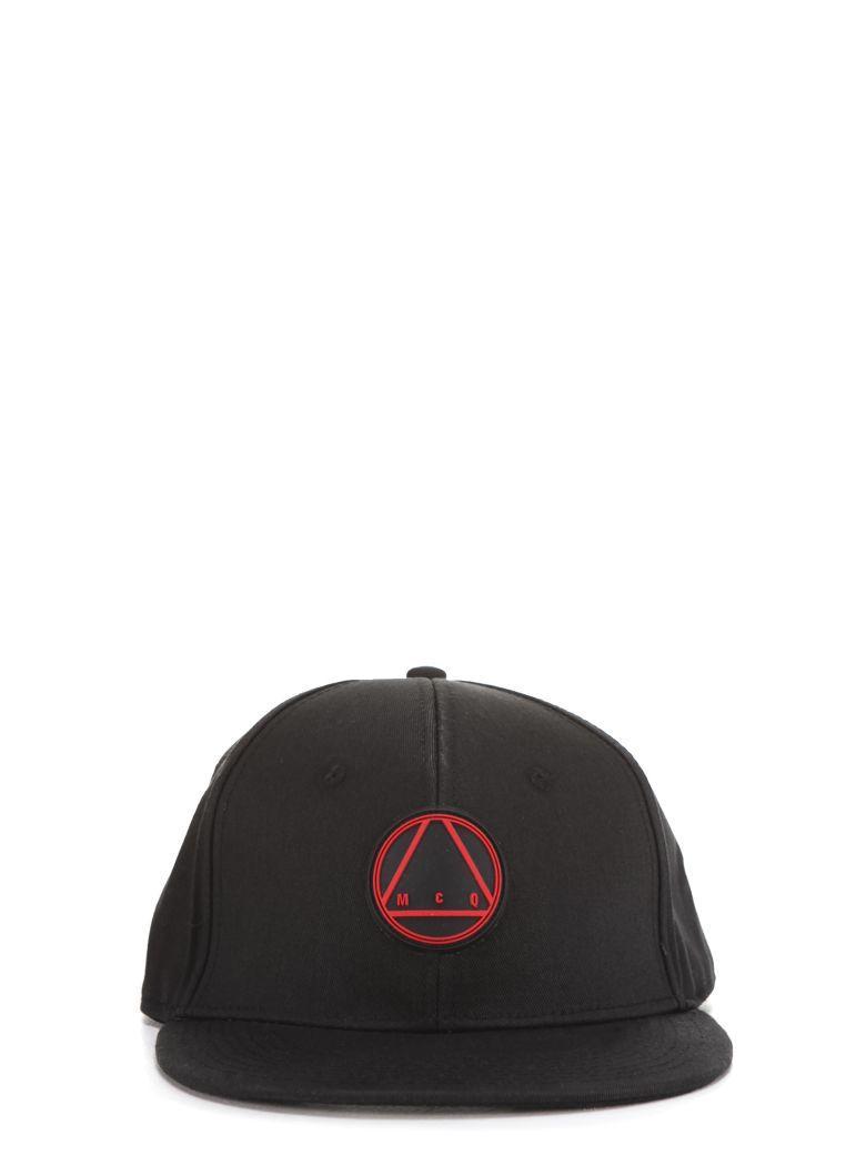 39508823098f8 Mcq By Alexander Mcqueen Mcq Alexander Mcqueen Glyph Icon Baseball Cap In  Black-Amp Red