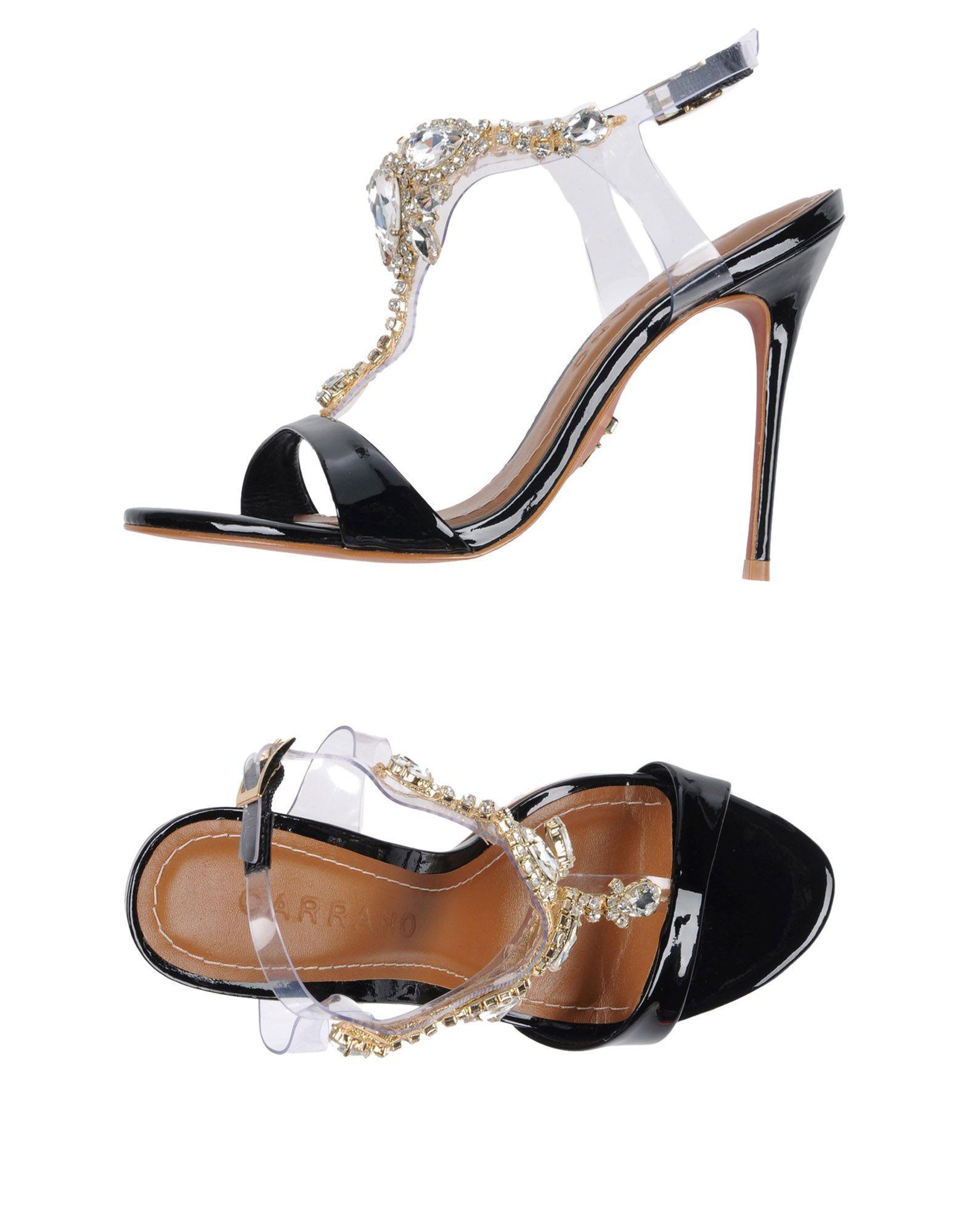 ca4d35734d589 Carrano Sandals In Black