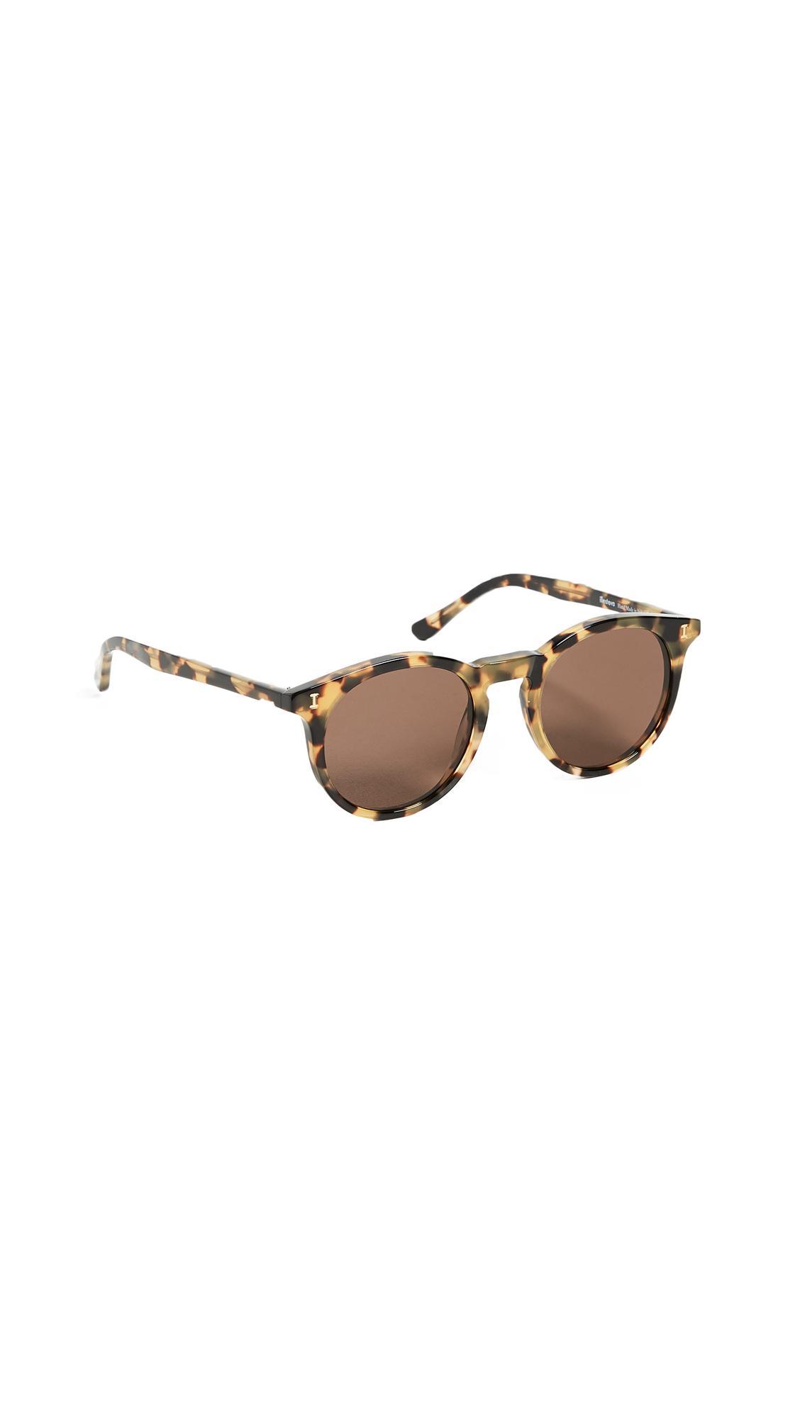 049e088dbf Illesteva Sterling Sunglasses In Tortoise Brown
