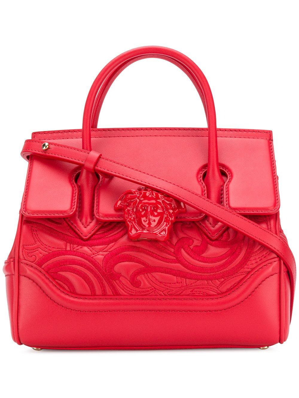 35e051301e Versace Palazzo Empire Tote Bag - Red