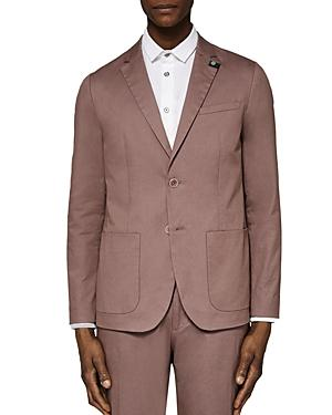 Ted Baker Cliford Piece Dyed Regular Fit Sport Coat In Pink