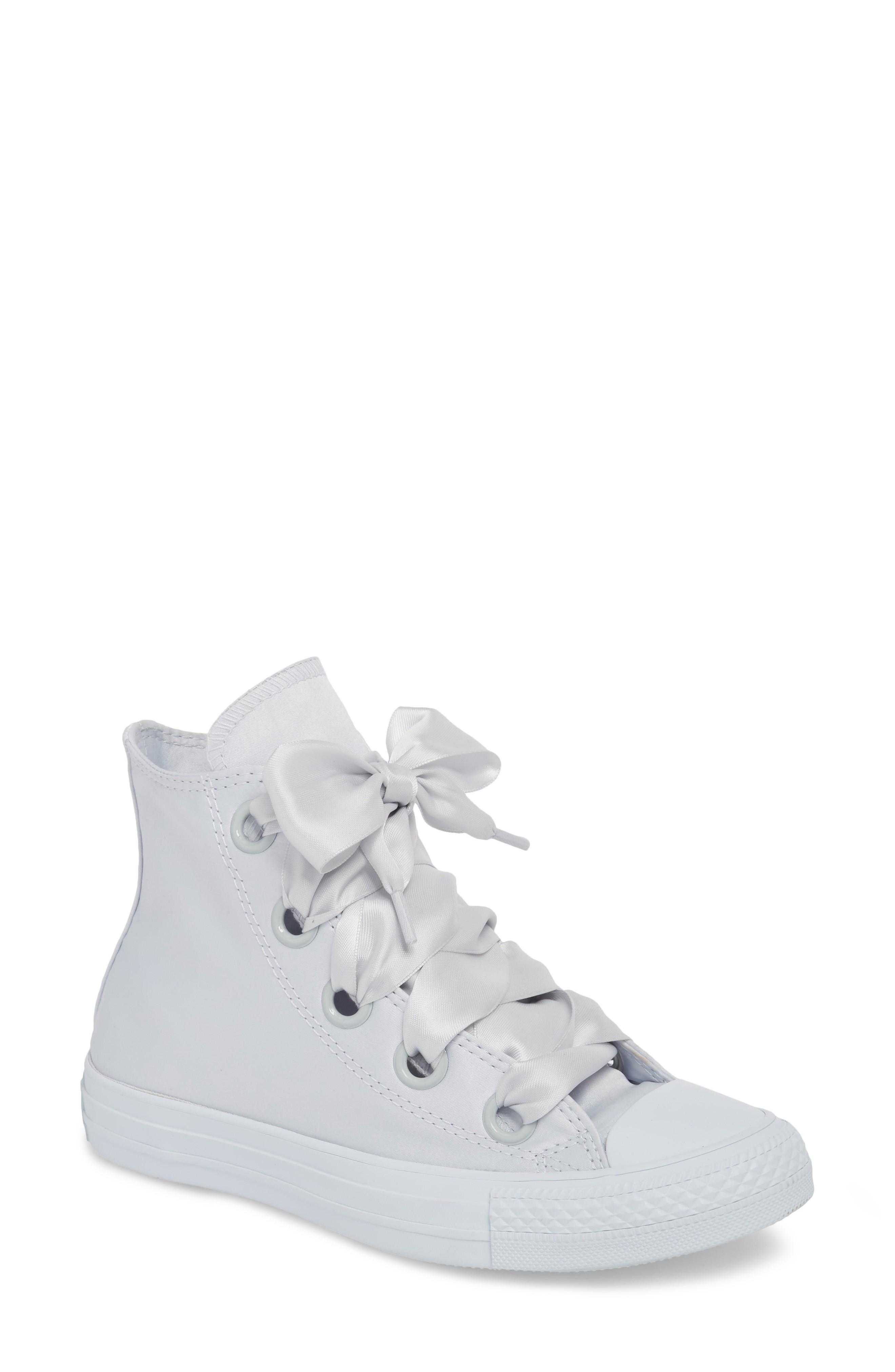 c60ef2750b57 Converse Chuck Taylor All Star Big Eyelet High Top Sneaker In Pure Platinum