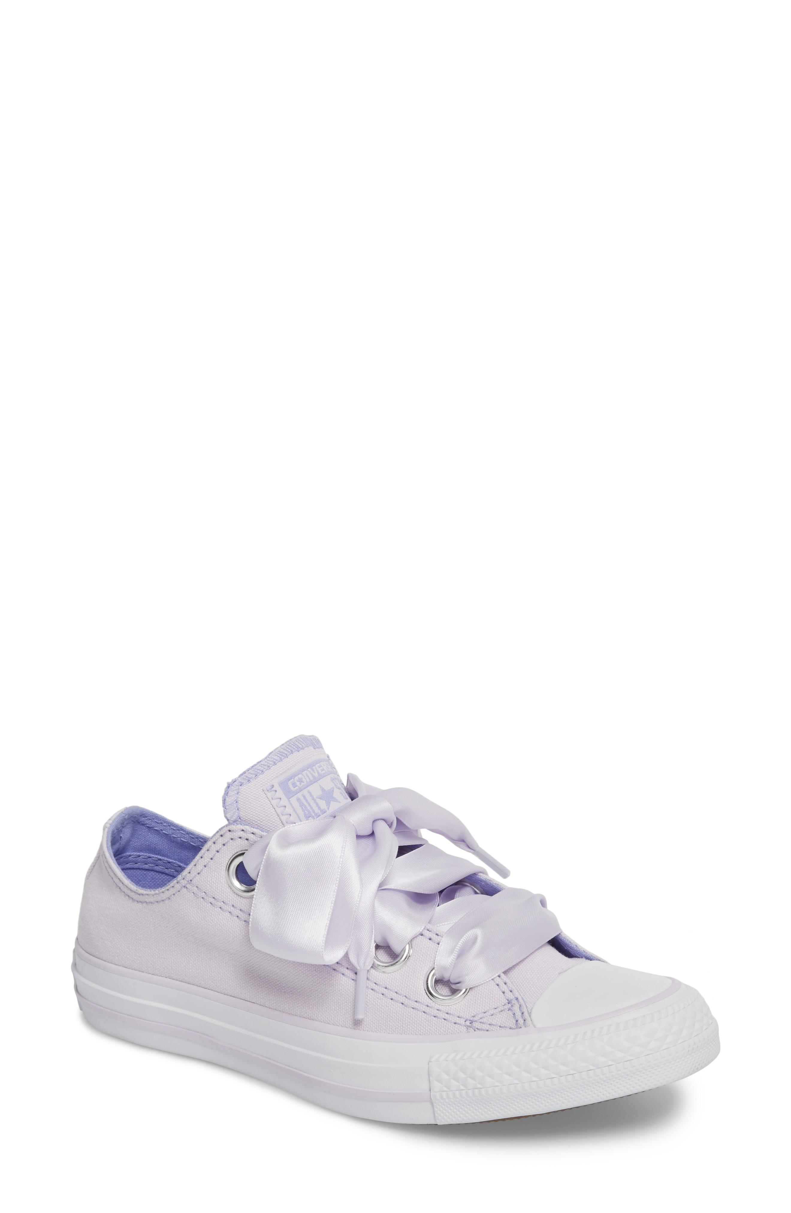 deba746fdcafb3 Converse Chuck Taylor All Star Big Eyelet Ox Sneaker In Barely Grape ...