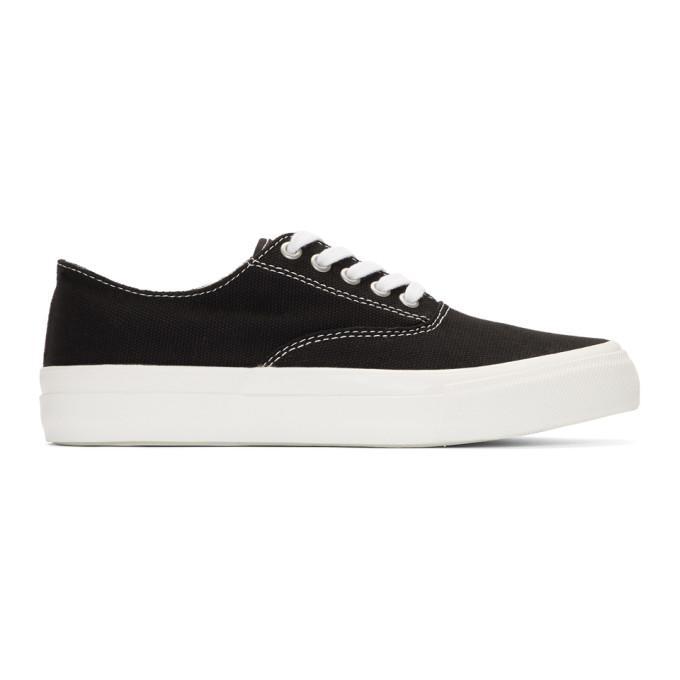 fd902489d07614 Comme Des GarÇOns Homme Deux Comme Des Garcons Homme Black Canvas Sneakers