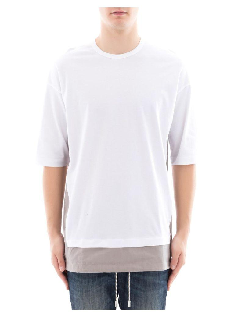 Diesel Black Gold White Cotton T-Shirt
