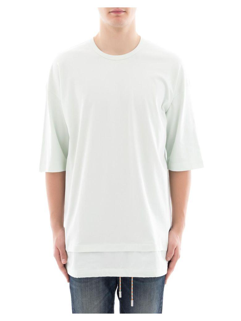Diesel Black Gold Green Cotton T-Shirt