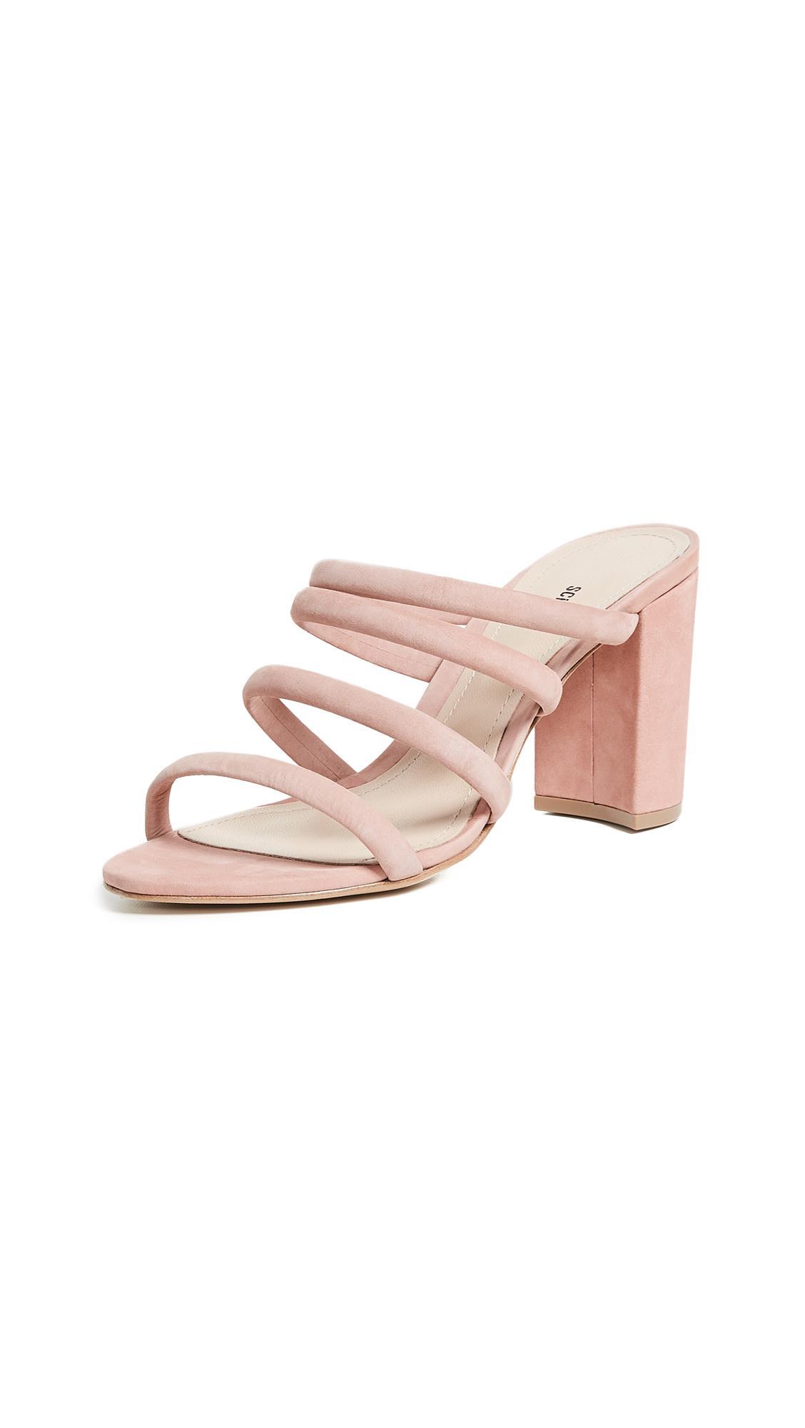 af3f28f4bc Schutz Felisa Tubular Sandals In Poppy Rose | ModeSens