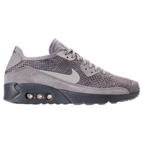 cheap for discount 21d29 0be11 Nike Men s Air Max 90 Ultra 2.0 Flyknit Casual Shoes, Grey