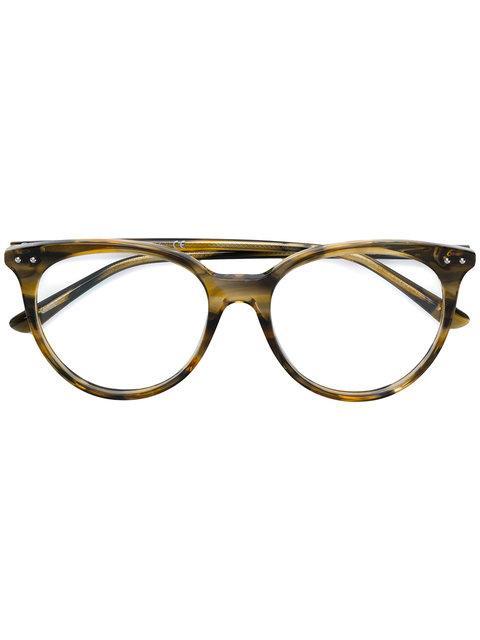 924827ec2dd Bottega Veneta Round Shaped Glasses
