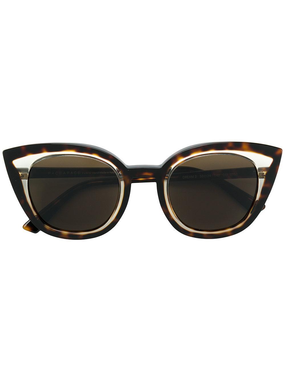 bf1087f226f Face À Face Tortoiseshell Cat-Eye Sunglasses - Farfetch In 2150 ...