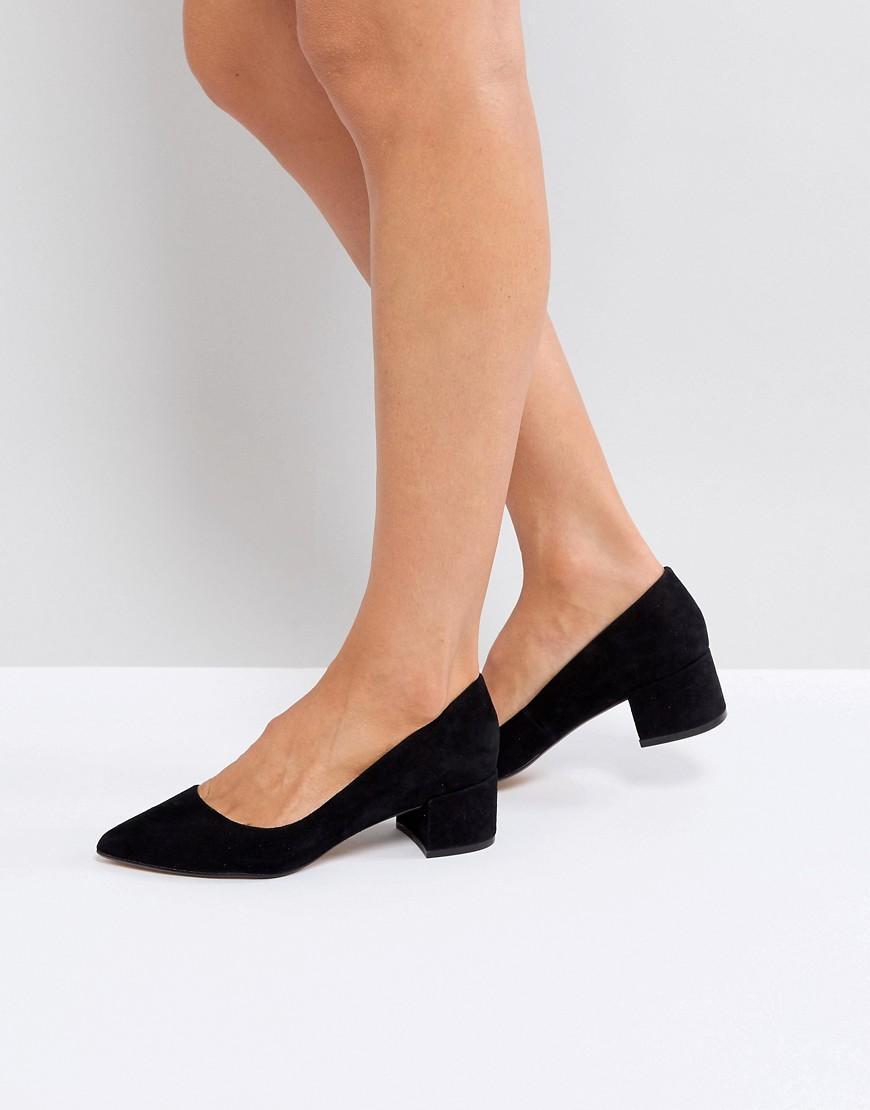 a2bba4247f8 Kitten Heel Shoes - Black
