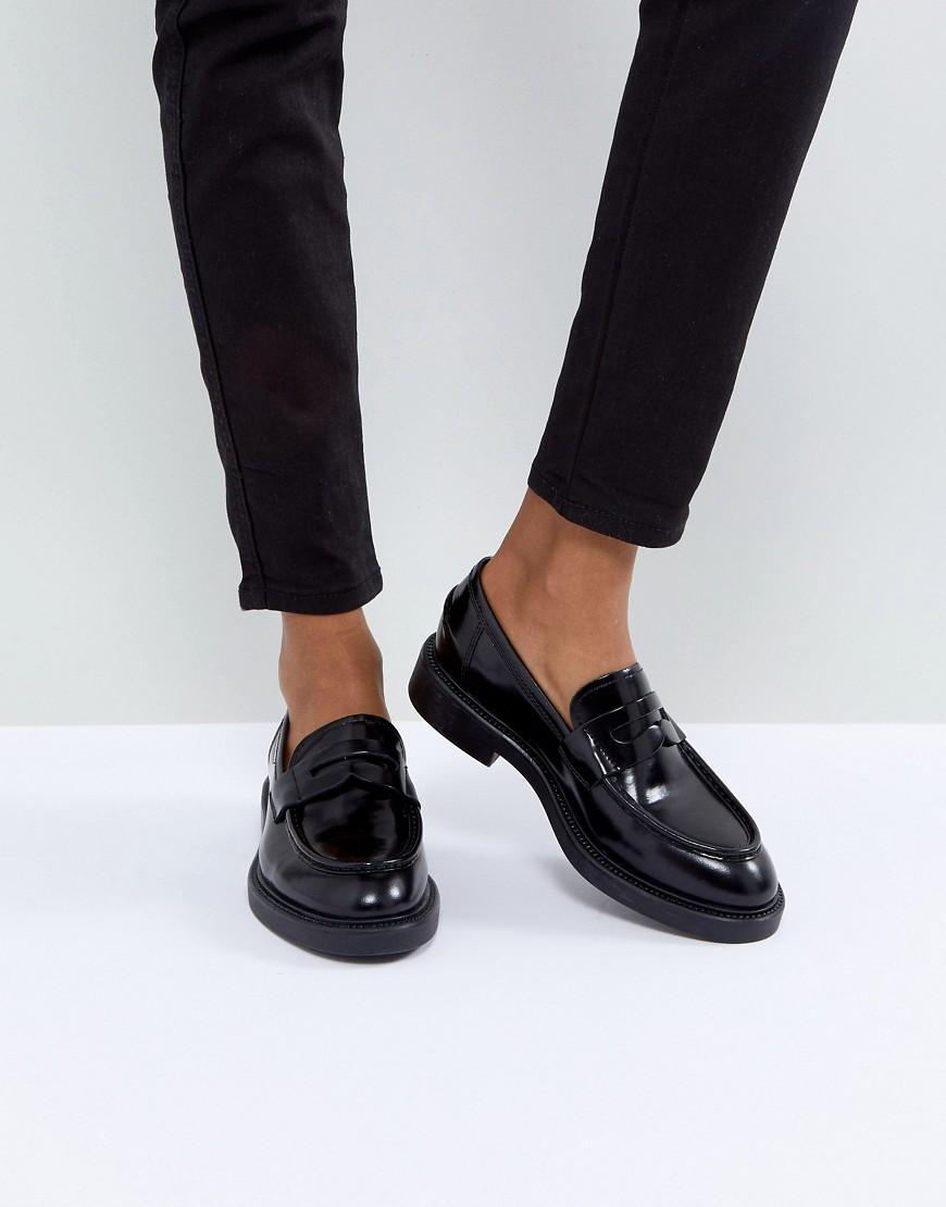 8c54164c83c Alex Black Leather Loafer - Black