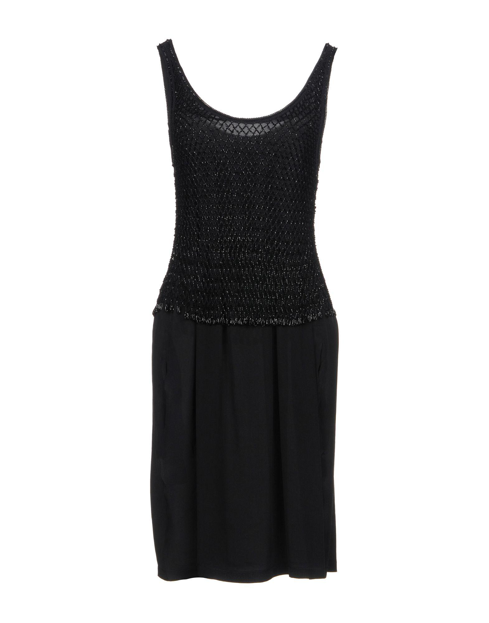 Moschino Cheap And Chic Short Dress In Black