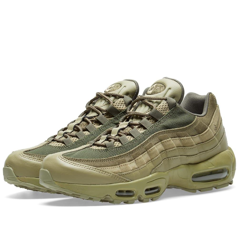 size 40 6cfe8 bc689 Nike Air Max 95 Premium in Green